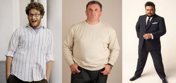 Модная Одежда Для Полных Мужчин Фото