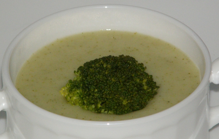 суп-пюре с брокколи