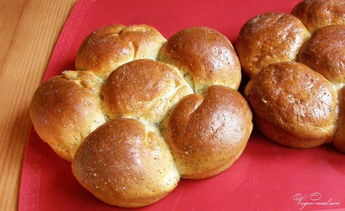 сдобные булочки с маком рецепт с фото